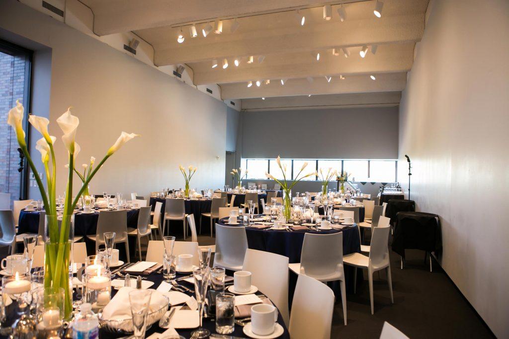 Event setting in Garden Terrace Room at Walker Art Center