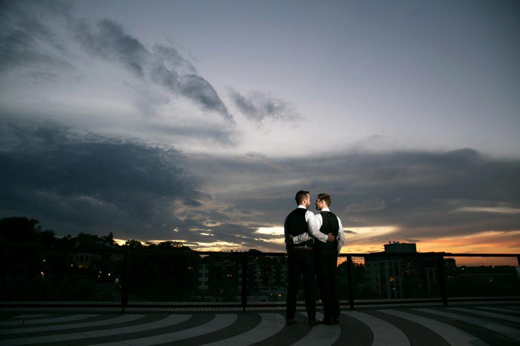 Wedding at Walker Art Center